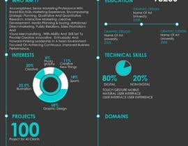 #9 for Design a graphic CV by Dreamachievers