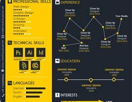 #15 for Design a graphic CV by Dreamachievers