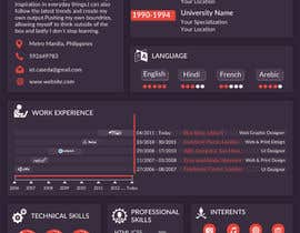 #17 for Design a graphic CV by shuklavijeta995