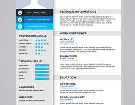 #2 for Design a graphic CV by chandrabhushan88