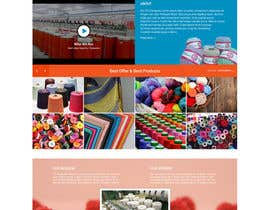#4 for Craft and Trimming Home Page by bddesign9