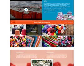 #6 for Craft and Trimming Home Page by bddesign9