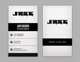 #263 for Design von Visitenkarten by Reflectgleam