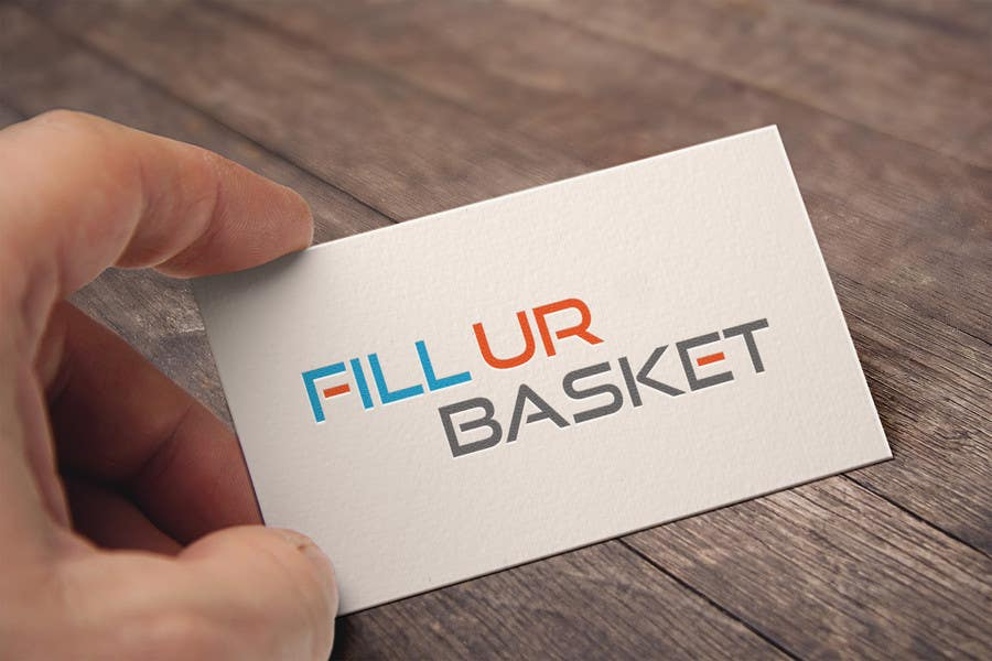Contest Entry #18 for fillURbasket logo