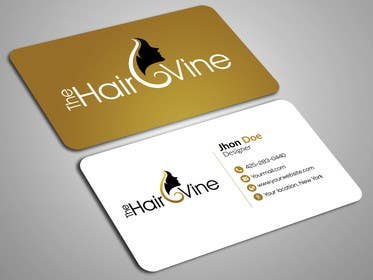 #39 for The Hair Vine needs Business Cards by sabbir85259