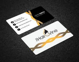 #116 for The Hair Vine needs Business Cards by fastaiddesigner