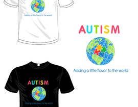 #9 for Autism World T Shirt by garceta14