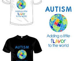 #34 for Autism World T Shirt by garceta14