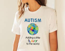 #53 for Autism World T Shirt by garceta14
