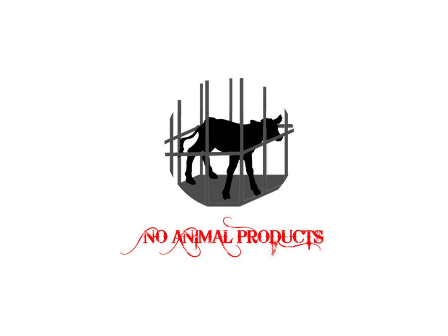 Contest Entry #24 for Design a Logo - for no animal products