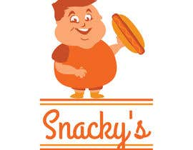 #18 for Design a Logo for Snacky's by lounzep
