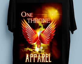 #8 for T-shirt design -  reign from heaven by pherval