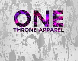 #21 for Design a Logo (ONE Throne Apparel #2) by gauravasrani8