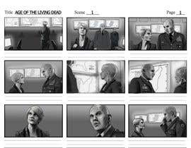 #12 for STORYBOARDS FOR TV SHOW - 4 SCENES - urgent by DmitriySoloviov