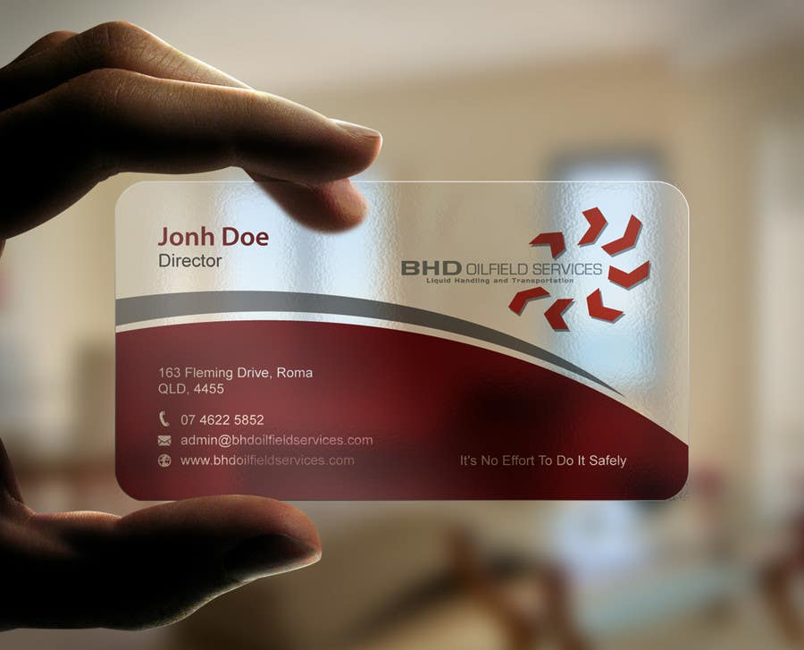 Entry #132 by mdreyad for BHD Oilfield Services Business Cards ...