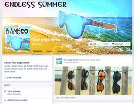 #29 for Design a Facebook landing page by Valadar