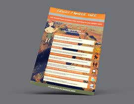 #8 for Design an informational flyer with illustrations for an Australian camper rental company by Natty00