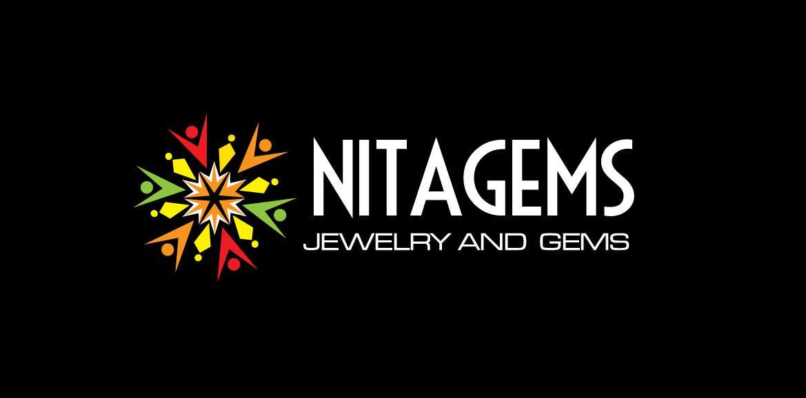 Logo Design for Nita Gems için 577 numaralı Yarışma Girdisi