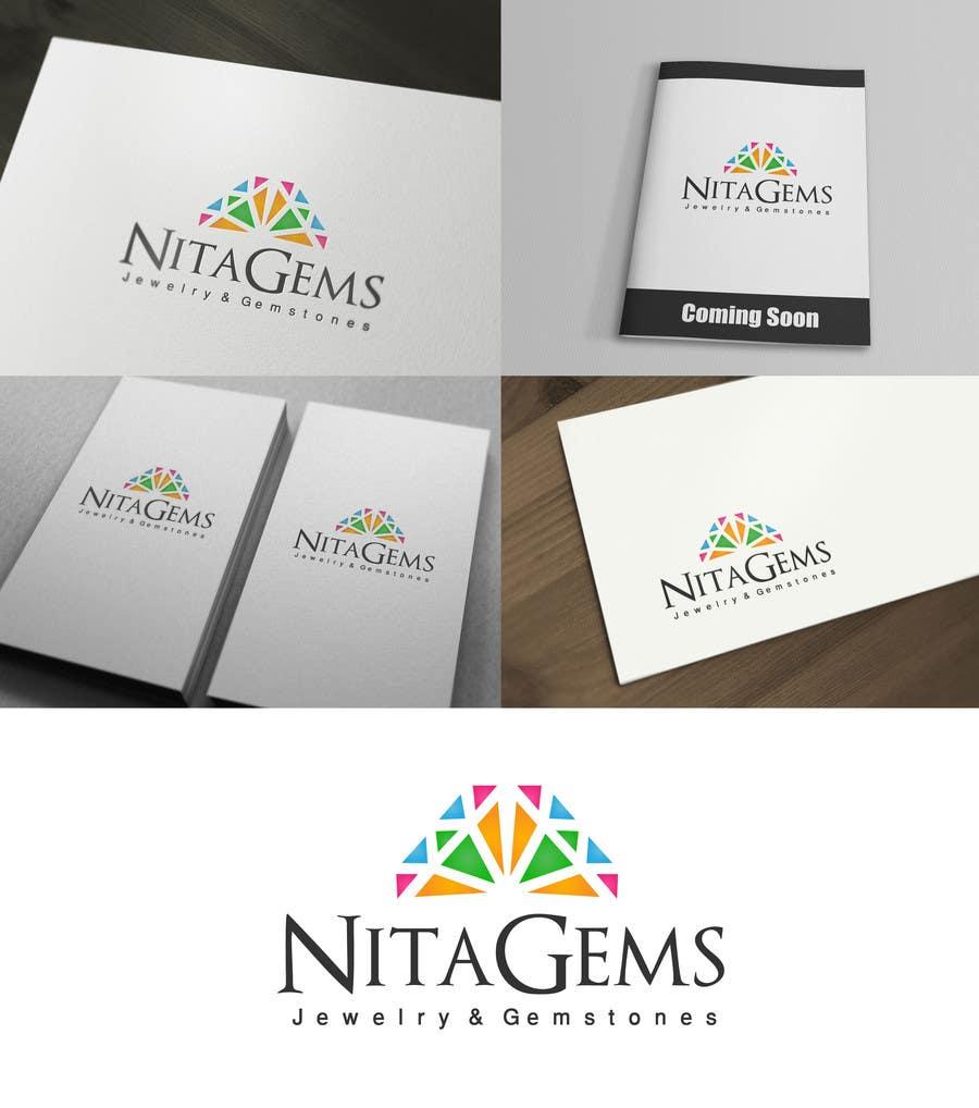 Penyertaan Peraduan #458 untuk Logo Design for Nita Gems