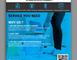 #49 for Create a flyer for a cleaning service by satishchand75