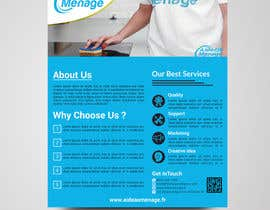 #56 for Create a flyer for a cleaning service by bdKingSquad