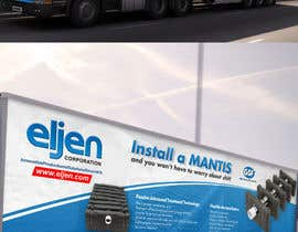 #24 for Eljen Mantis, Vinyl Truck Wrap by ravi05july