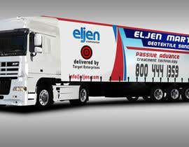 #21 for Eljen Mantis, Vinyl Truck Wrap by leonardonayarago