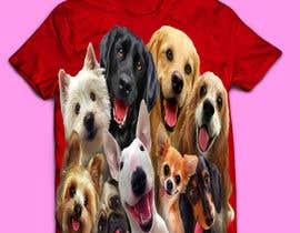 #64 for Dogs TShirt by anieshiaka