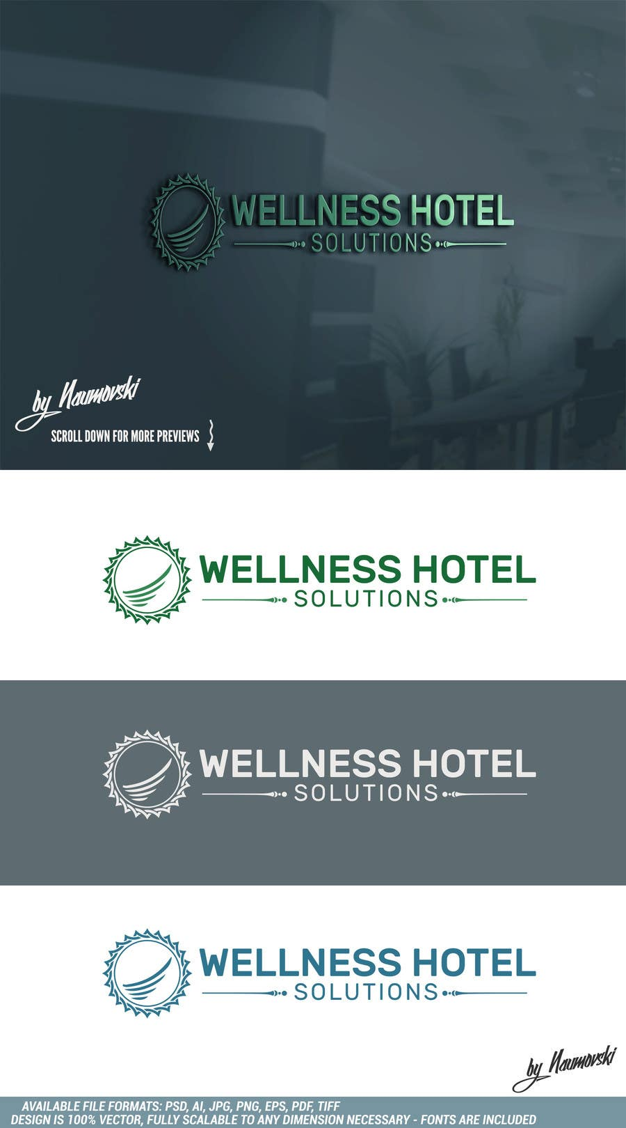 Contest Entry #131 for Design a Logo for a Wellness Company