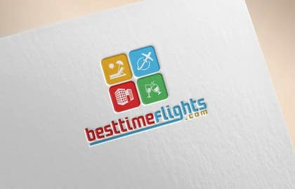 #121 for Logo for website www.besttimeflights.com by parvesmhp