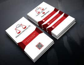 #82 for Design some Legal Business Cards by monir7554