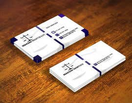 #225 for Design some Legal Business Cards by tanber