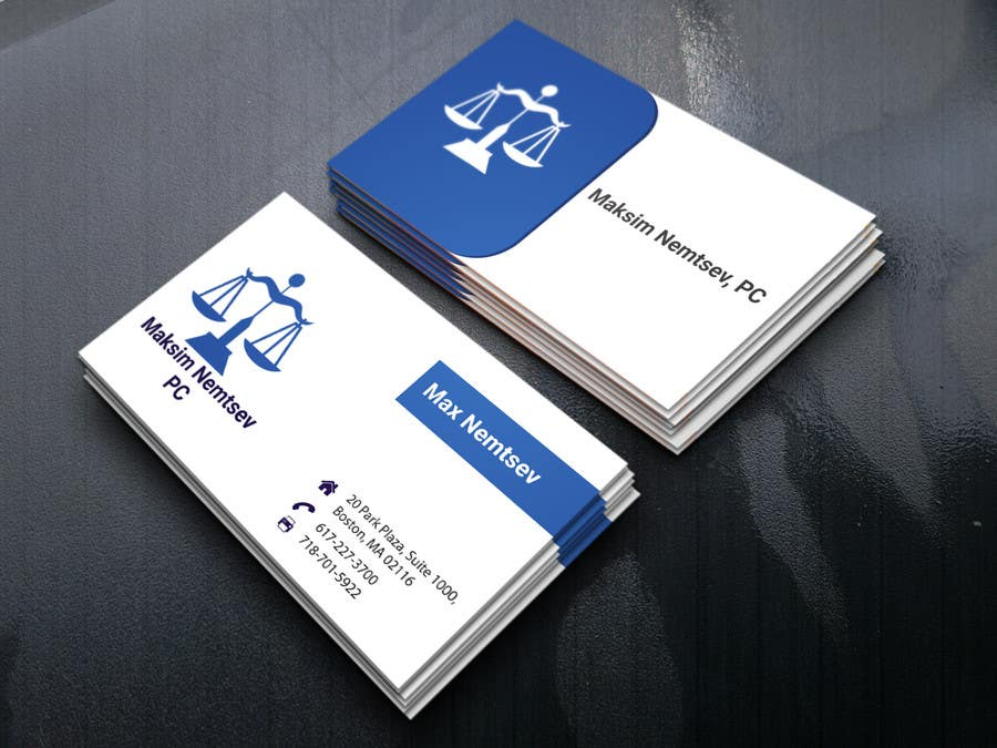 Entry #176 by alamin2276 for Design some Legal Business Cards ...