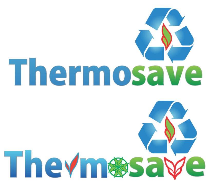 Kilpailutyö #453 kilpailussa Logo Design for THERMOSAVE
