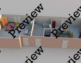 #6 for 3D Floor Plan Garda by upgifts