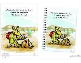 #52 for Illustrate Children's Book: Lemon Armadillo by Agemo88