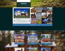 #3 for Design a Website Mockup for a Cottage by B1sher
