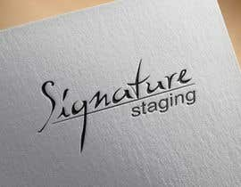 #144 for Design a Logo for Signature Staging by Elyott