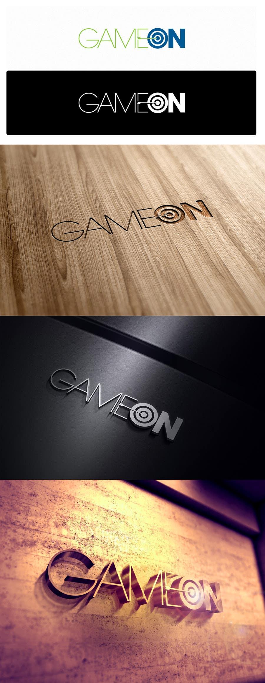 Konkurrenceindlæg #17 for Logo Design for Game On