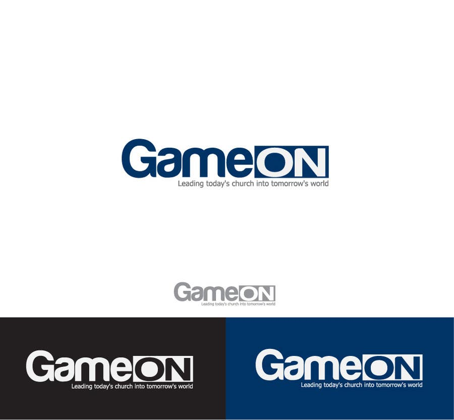 Kilpailutyö #63 kilpailussa Logo Design for Game On