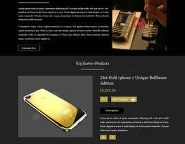 #15 for Design a Website Mockup for Luxury phones by ravinderss2014