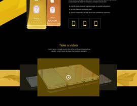 #3 for Design a Website Mockup for Luxury phones by niladrilx