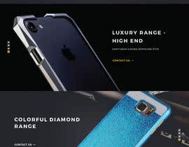 #25 for Design a Website Mockup for Luxury phones by tamamanoj