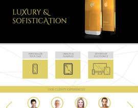 #12 for Design a Website Mockup for Luxury phones by jazmindez