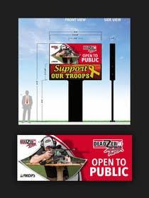 #38 for Graphic Design for large entrance sign by DigitalArtBrain