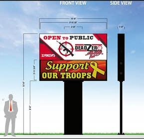#58 for Graphic Design for large entrance sign by DigitalArtBrain