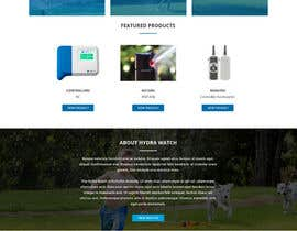 #5 for Design a Website Mockup for HydraWatch by benoypjose