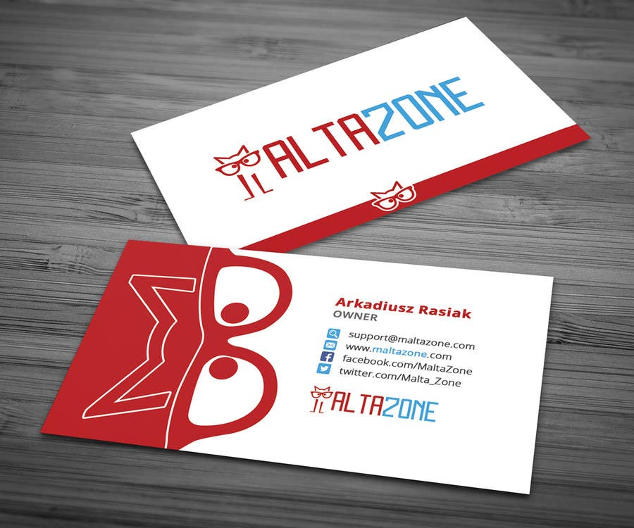 Top entries business card design for my company freelancer featured contest reheart Choice Image