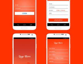#1 for App design (login screen, homepage) by husainmill