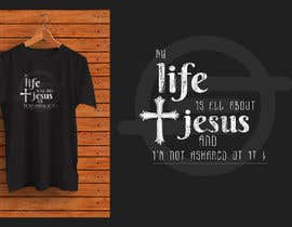 #43 for Create Large Christian Life Graphic (for t-shirt) by adhikery
